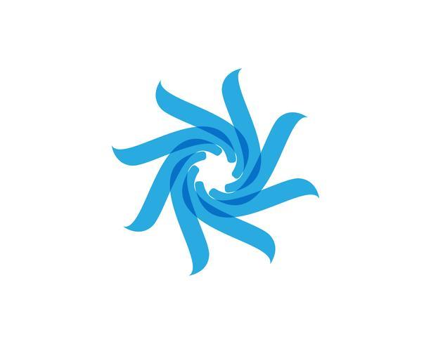 motivi floreali logo e simboli su uno sfondo bianco