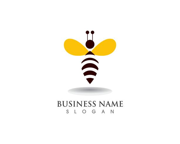 Abeille Logo Template vector icon illustration