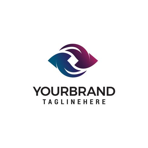 Hand schütteln Logo Design Konzept Vorlage Vektor