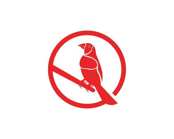 Águia Asas pássaro sinal abstrato modelo ícones app