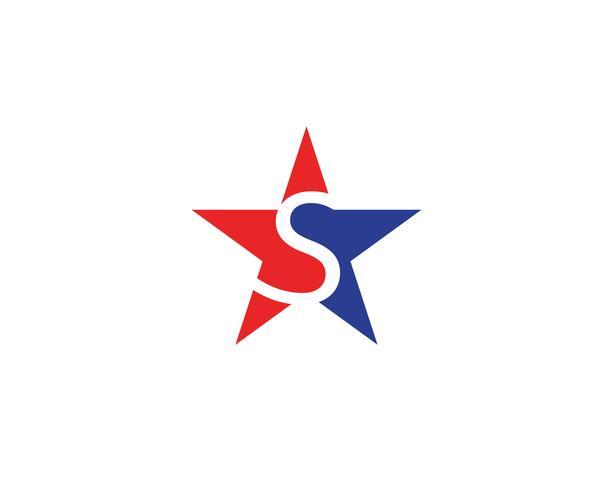 Star logo vector icon illustration design