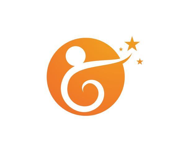 Adopción comunidad cuidado Logo plantilla vector icono