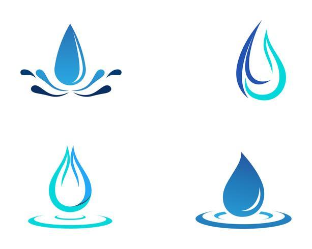 Ícone de vetor de gota de água