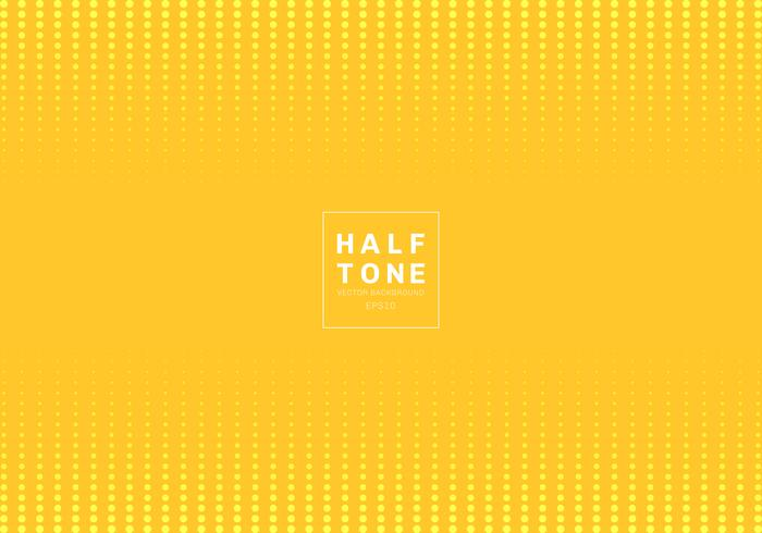 Abstract of light dot pattern halftone design concept yellow background with space fot text. Decoration website layout header and footers and brochure, poster, banner web, card, etc.