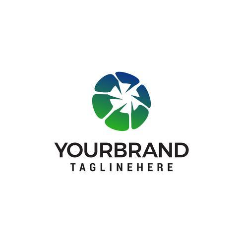 icono de chat logo diseño concepto plantilla vector