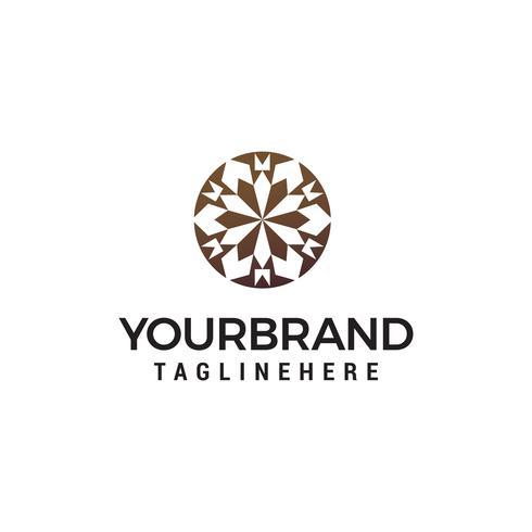 interieur decoratie logo ontwerp concept sjabloon vector