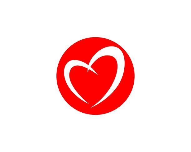 Amore Logo e simboli Vector Template icone app