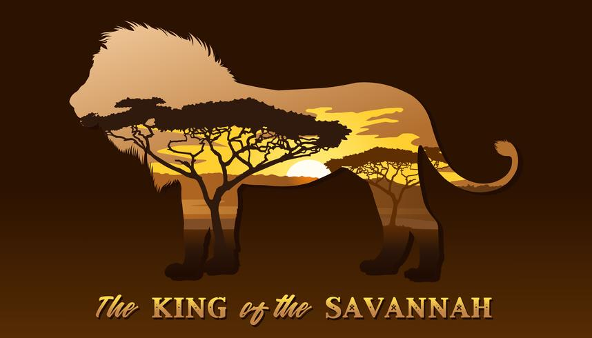 The king of the Savannah