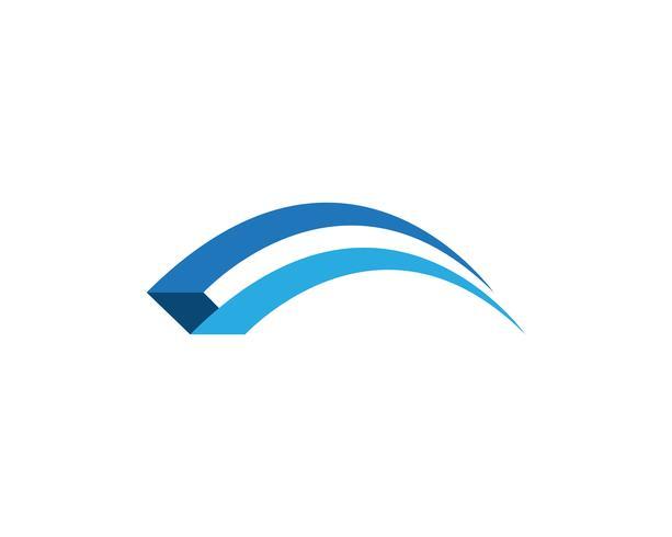 Brug pictogram vector illustratie Logo sjabloon ontwerp