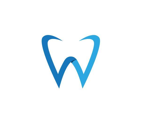App icone di modello di logo e simboli di cure odontoiatriche app