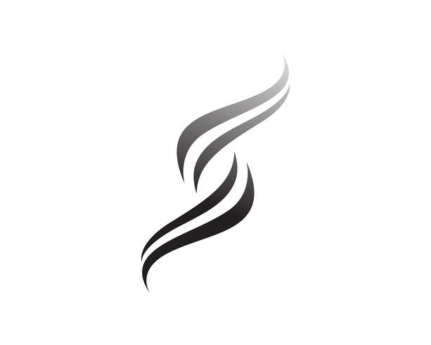 Vector de diseño de logotipo corporativo de letra S