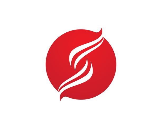 letter S Business corporate logo design vector