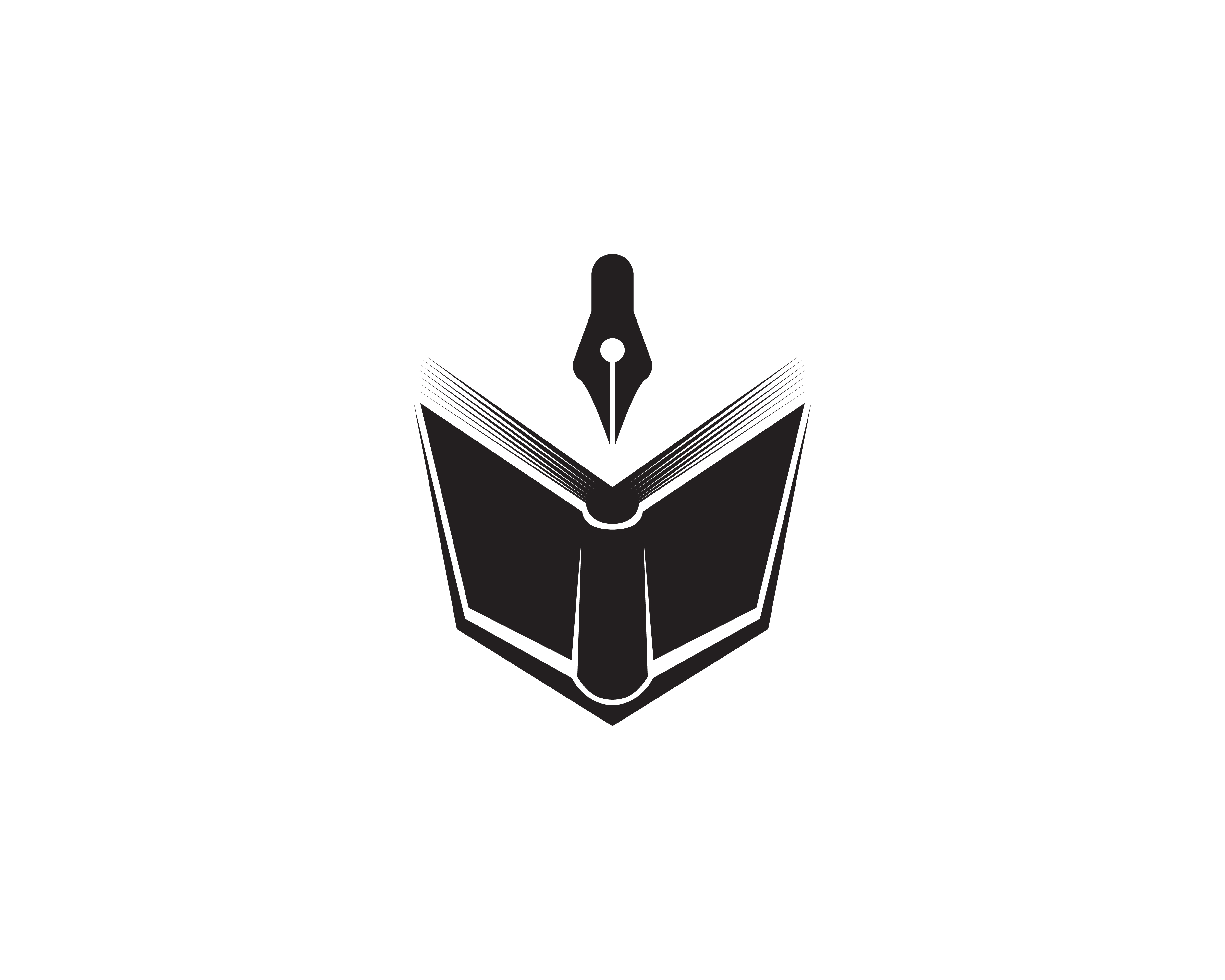 Book reading logo and symbols template icons app ...