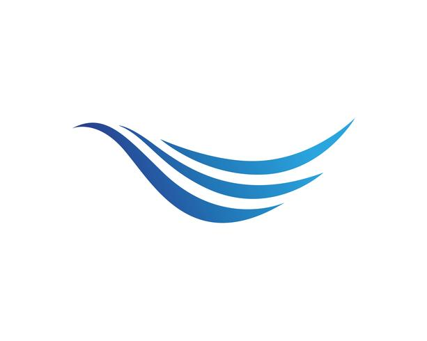 Aplicación de iconos de símbolos y símbolos de la playa de olas vector
