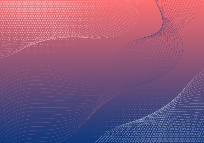 Vector Abstract Gradient Background
