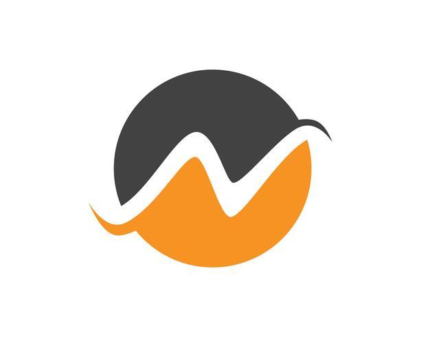 N carta Logo Business Template Vector icono