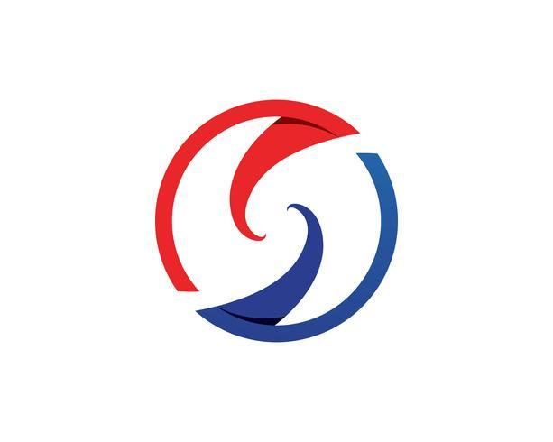 S logotyp och symboler mall vektor ikoner ..