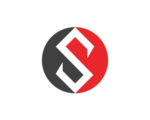 S logo et symboles icônes vectorielles modèle vecteur