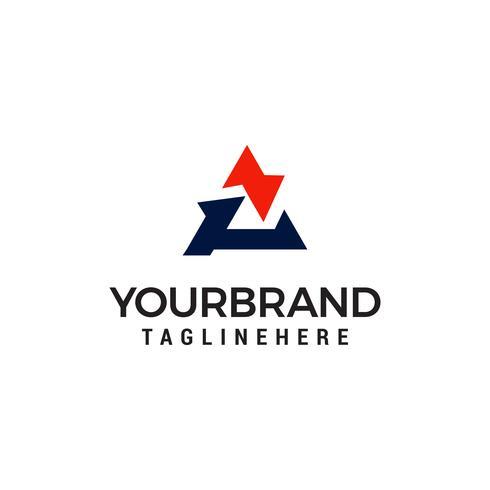 vector de plantilla de diseño de logotipo letra A
