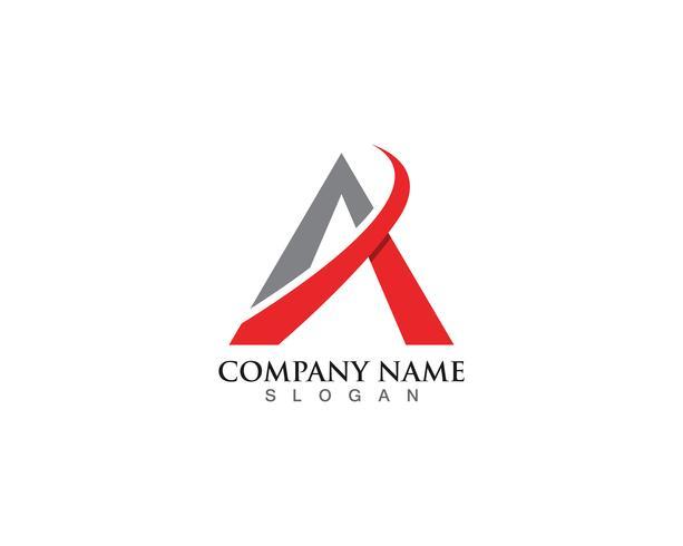 A Logo Business Template Vector icon