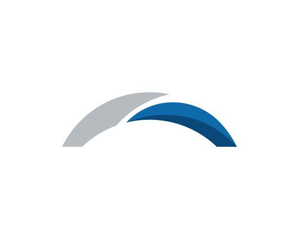 Bridge icon vector illustration Logo template design,