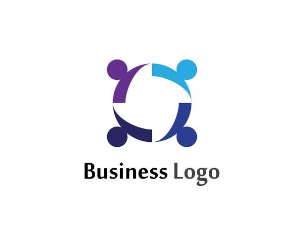 Le persone della cipolla del gruppo della Comunità si preoccupano del modello di logo e di simboli