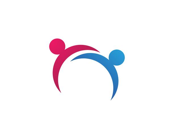 Community people care logo and symbols template,,