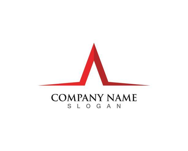 Une icône de lettre Logo Business Template Vector