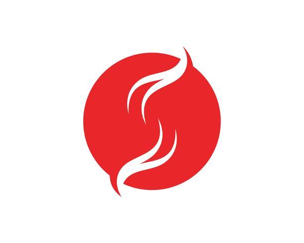 S logotipo e símbolos vetoriais modelo de ícones.