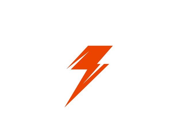 Flash power thunderbolt iconos vectoriales