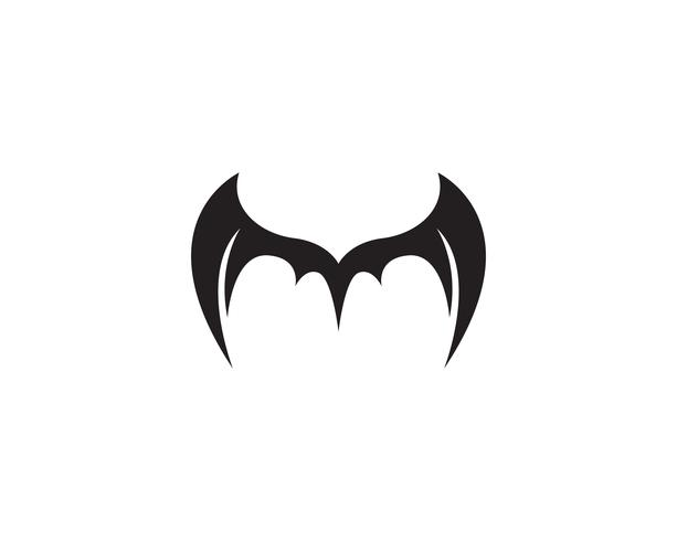 Wing bat logo and symbols template icons