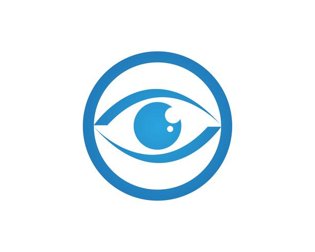 Eye care logo and symbols template vector icons app