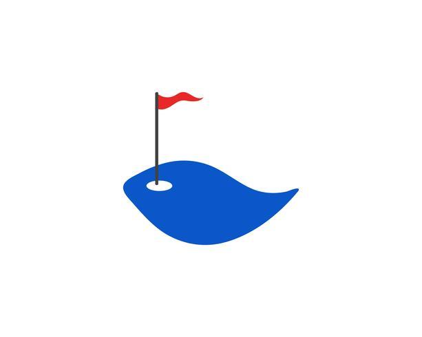 Club de golf iconos elementos de símbolos e imágenes vectoriales de logotipo vector