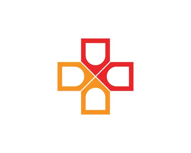 Krankenhaus Logo und Symbole Vorlage Symbole App,