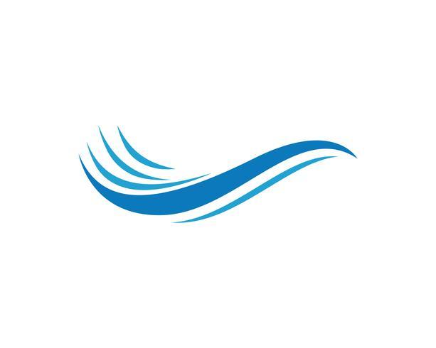 ondas praia logotipo e símbolos modelo ícones app