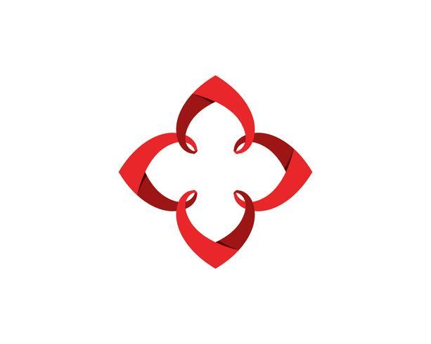 Liebes-Logo und Symbole Vektor-Schablonenikonen-APP.