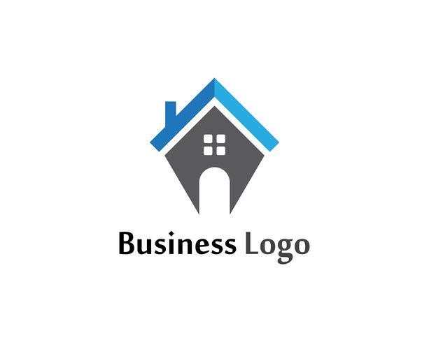 home sweet home logo und symbole symbole vorlage vektor