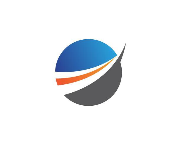 Logo voor bedrijfsfinanciering vector