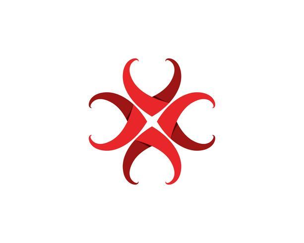 Kärlek Logo och symboler Vektor Mall ikoner app ..