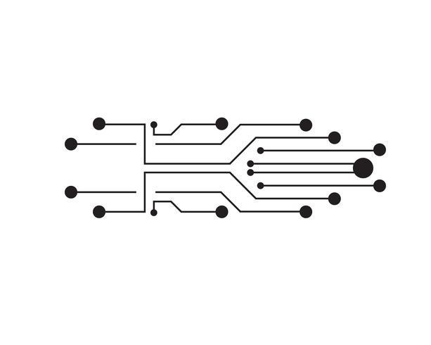Résumé futur concept de technologie de science numérique.