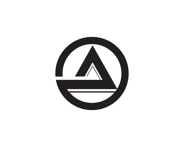 Un negocio carta Logo y símbolo plantilla Vector icono