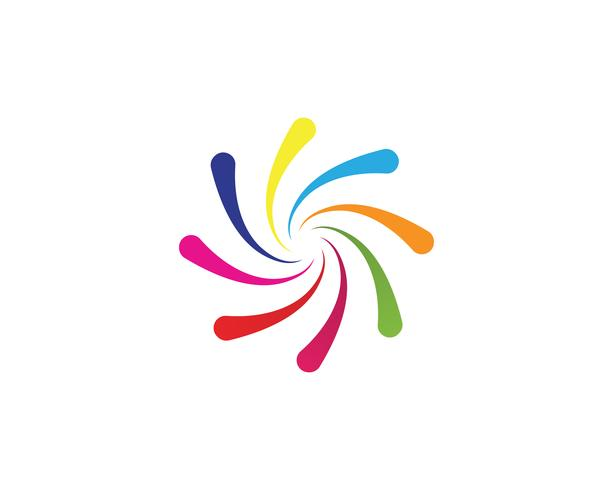vortex cirkel logotyper och symboler mall ikoner app ..