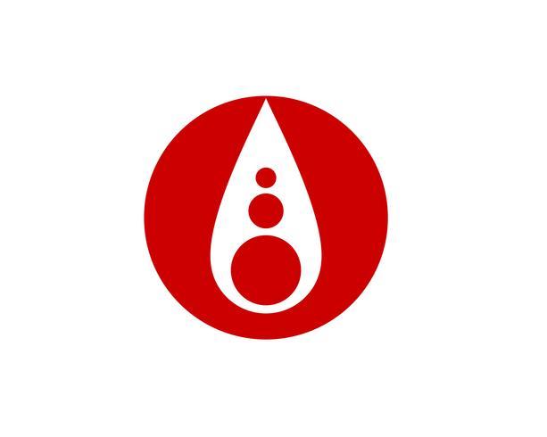 Iconos vectoriales de sangre vector
