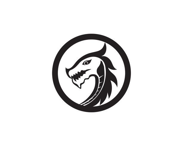 Dragon Logo Symbol Vektor