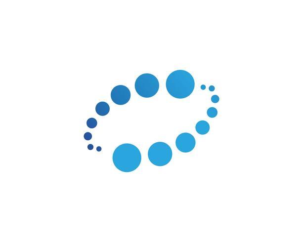 vortex cirkel logo en symbolen sjabloon pictogrammen app ..