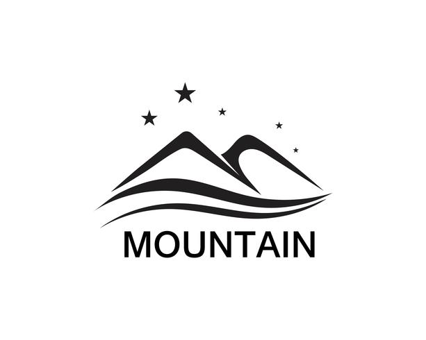 Inspiraciones en el diseño del logo de Minimalist Landscape Mountain vector