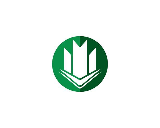 Vastgoed en constructie Logo ontwerp