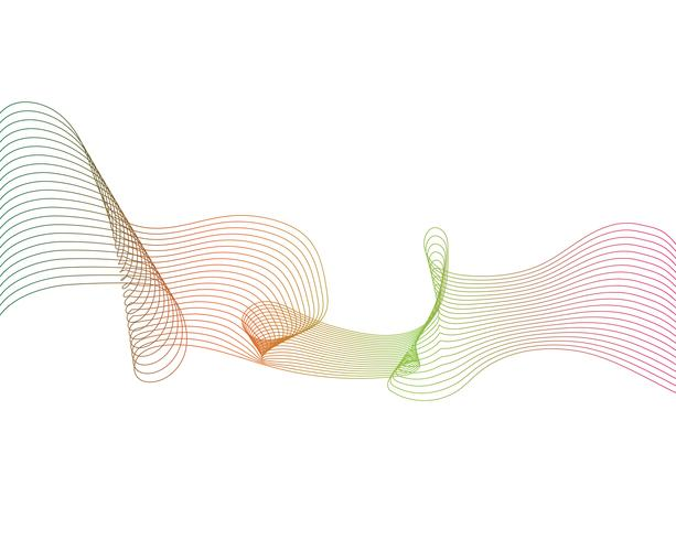 wave line graphic illustration vector
