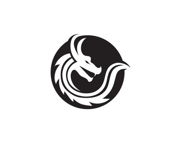 drake logo ikon vektor