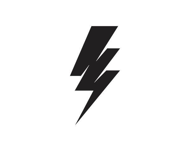 Coup de tonnerre Flash Template vector icon illustration vector